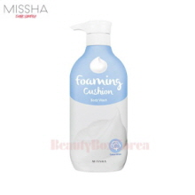 MISSHA Foaming Cushion Body Wash 500ml (Cotton White)