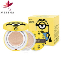 MISSHA (Minions Edition) Magic Cushion Moisture Special Package 15g*2ea+air in puff*1ea, MISSHA