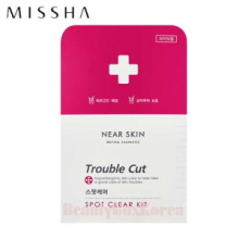 MISSHA Near Skin Trouble Cut Spot Clear kit 10swabs + 36patches