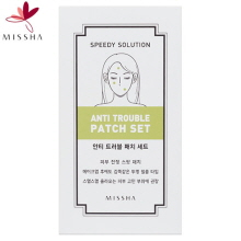 MISSHA Speedy Solution Anti Trouble Patch Set 8ea, MISSHA