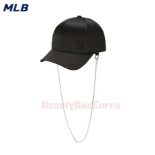 MLB Satin Gold Chain Curve Cap 1ea