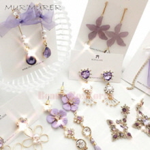 MUR'MURER Violet Earring Collection 1pair