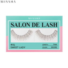 MISSHA Salon De Lash (False Eyelash) #04 Sweet Lady (Brown, 9mm), MISSHA