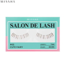 MISSHA Salon De Lash (False Eye Lash / Under lashes) #05 Cute Fairy (Brown, 5mm), MISSHA