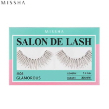 MISSHA Salon De Lash (Eyelash) #06 Glamorous (Brown, 12mm), MISSHA