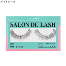 MISSHA Salon De Lash (Eyelash) #09 Mini Dress (Black, 8mm/Volume), MISSHA
