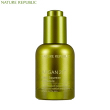 NATURE REPUBLIC Argan 20˚ Real Squeeze Ampoule 25ml, NATURE REPUBLIC