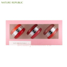 NATURE REPUBLIC Dual Lip & Cheek Macaroon Kit 10g*3ea