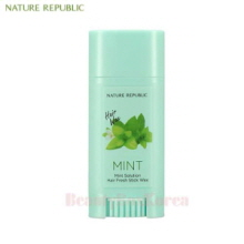 NATURE REPUBLIC Mint Solution hair Fresh Stick Wax 14g