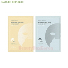 NATURE REPUBLIC Morning Routine Mask Sheet 17g*5ea