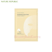 NATURE REPUBLIC Morning Routine Mask Sheet 17g