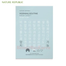 NATURE REPUBLIC Morning Routine Mask Sheet 20g*10ea