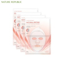 NATURE REPUBLIC Natural Peptide 2 Step Band Mask 23ml*5ea