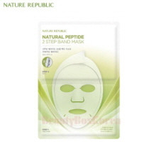 NATURE REPUBLIC Natural Peptide 2 Step Band Mask 23ml
