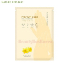 NATURE REPUBLIC Premium Gold Foil Hand Mask 12ml