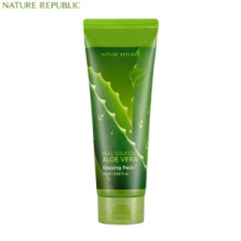 NATURE REPUBLIC Real Squeeze Aloe Vera Sleeping Pack 160ml, NATURE REPUBLIC