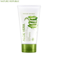 NATURE REPUBLIC Soothing & Moisture Aloe Vera Foam Cleanser 150ml, NATURE REPUBLIC