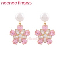 NOONOOFINGERS Cherry Blossom Earrings 1pair