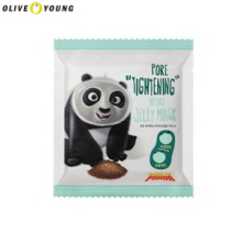 OLIVE YOUNG Kung Fu Panda Pore Tightening Hydro Jelly Mask 25g*2ea, Own label brand