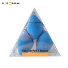 OLIVE YOUNG Make-Up Puff & Sponge 3ea