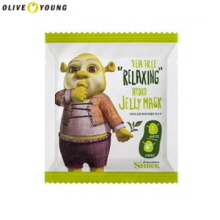 OLIVE YOUNG Shrek Tea Tree Relaxing Hydro Jelly Mask 25g*2ea, Own label brand