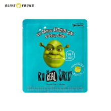 OLIVEYOUNG Dreamworks R U Real Shrek Mask 13g