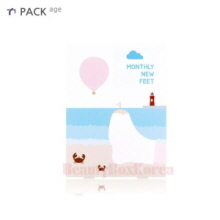 PACK AGE Monthly New Feet Foot Socks Pack 25ml*5ea