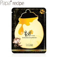 PAPA RECIPE Bombee Black Honey Mask Pack 25g, PAPA RECIPE