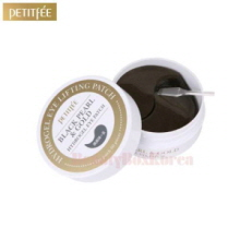 PETITFEE Black Pearl & Gold Hydrogel Eye Patch 24K 1.4g*60ea,PETITFEE
