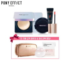 PONY EFFECT Defense Longwear Cushion Foundation SPF50+ PA+++ Special set