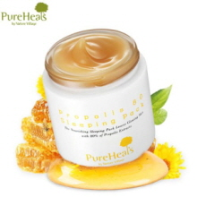 PUREHEALS Propolis 80 Sleeping Pack 100ml, PUREHEALS