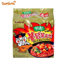 SAMYANG Hot Chicken Curry Flavor Ramen 140g*4ea