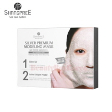 SHANGPREE Silver Premium Modeling Mask 50g*5 4.5g*5ea