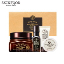 SKINFOOD Black Sugar Perfect Reset Cream Set 4items
