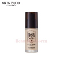 SKINFOOD Black Sugar Satin Makeup Foundation SPF20 PA+ 30ml