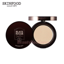 SKINFOOD Black Sugar Satin Powder Pact SPF25 PA++ 10g
