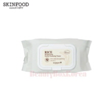 SKINFOOD Rice Brightening Facial Cleansing Tissue 380ml
