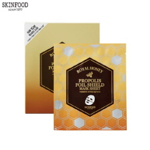 SKINFOOD Royal Honey Propolis Foil Shield Mask Sheet Set 25g*4, Skinfood
