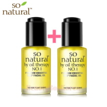SO NATURAL Concentrate Premium Essential Deep Facial Oil 30ml+30ml