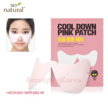 SO NATURAL Cool Down Pink Patch 3ea,SO NATURAL