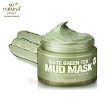 SO NATURAL Mate Green Tea Mud Mask 100ml