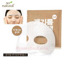 SO NATURAL Oil Cut Paper Mask 8g