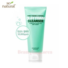 SO NATURAL Pore Tensing Carbonic Clay Foam Cleanser 120ml