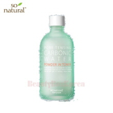 SO NATURAL Pore Tensing Carbonic Water Powder Toner 135ml