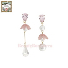 STRAWBERRY SHERBET Aroha Hawaii Pink Earrings 1pair