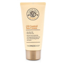 THE FACE SHOP Clean Face Oil Control Sun Cream SPF35 PA++ 50ml, THE FACE SHOP