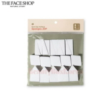THE FACE SHOP Daily Beauty Tools Save Big Makeup Sponge 20pcs