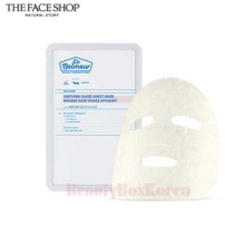 THE FACE SHOP Dr Belmeur Daily Repair Soothing Gauze Sheet Mask 30g,Beauty Box Korea