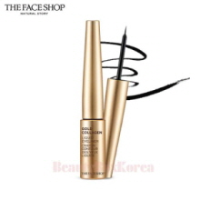 THE FACE SHOP Gold Collagen Liquid Eyeliner No.01 Black 6g,THE FACE SHOP,Beauty Box Korea