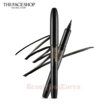 THE FACE SHOP Gold Collagen Marker Pen Eyeliner 1ml (01 Black)